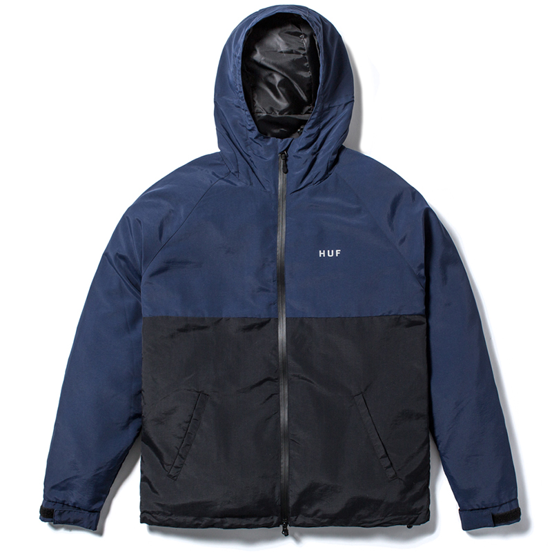 HUF Standard Shell Jacket Navy/Black