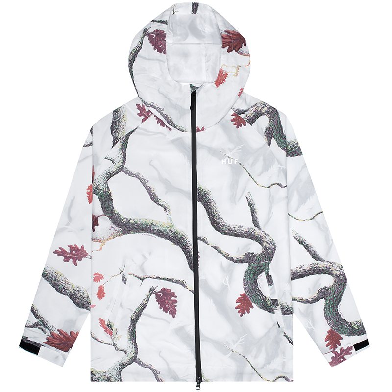 HUF Standard Shell Jacket White