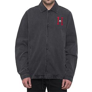 HUF X Felix The Cat Denim Coaches Jacket Black