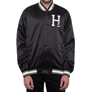HUF X Felix The Cat Satin Jacket Black