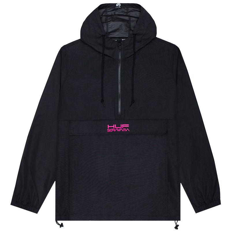 HUF X Sorayama Anorak Jacket Black