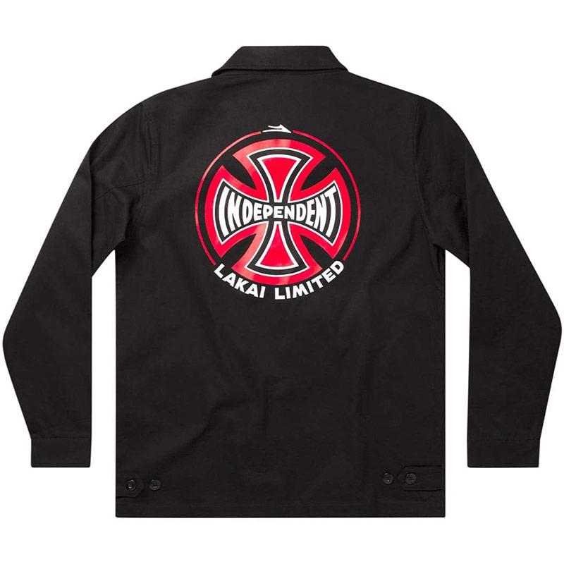 Lakai x Independent Indy Garage Jacket Black