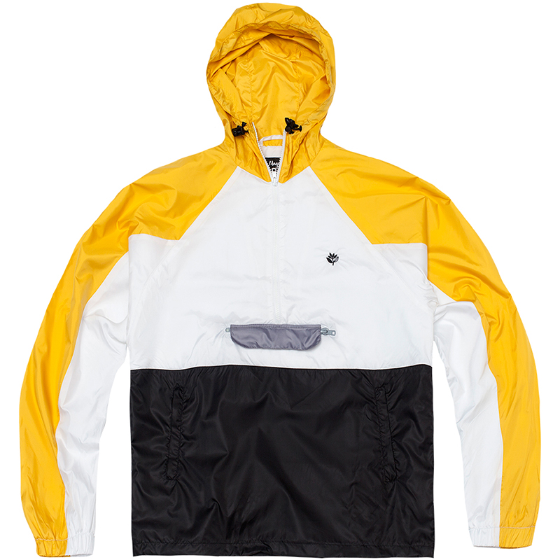 Magenta Belleville Jacket Yellow