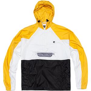 Magenta Belleville Jacket Yellow