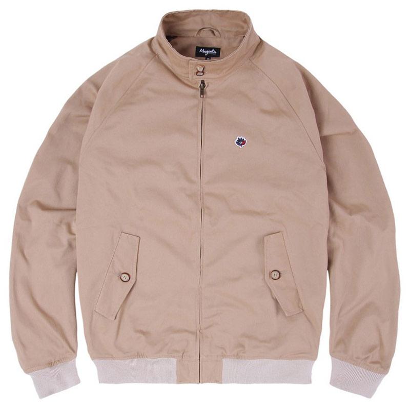 Magenta Harrington Jacket Beige