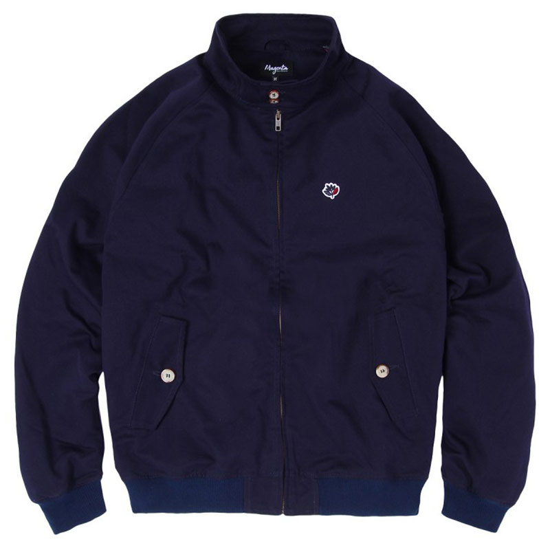 Magenta Harrington Jacket Navy