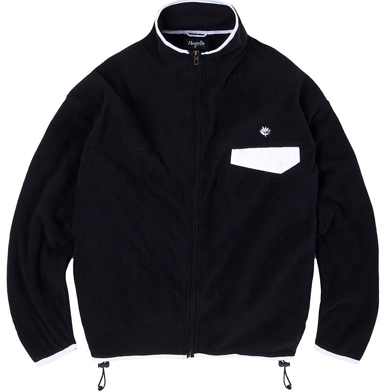 Magenta Northfleece Jacket Black