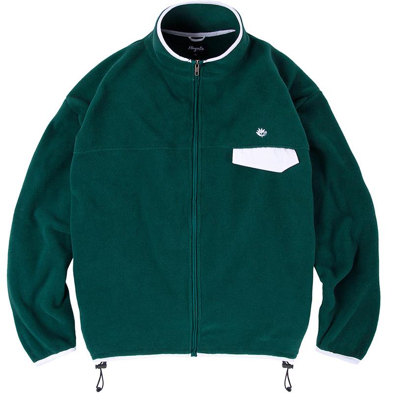 Magenta Northfleece Jacket Green