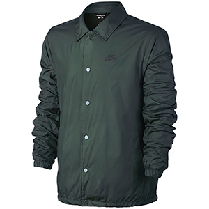 Nike SB Coaches Shield Jacket Midnight Green/Anthracite