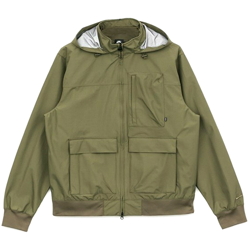 Nike SB Shield Winterized Jacket Medium Olive/Medium Olive