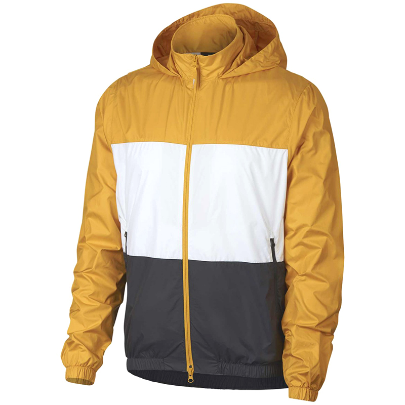 Nike SB Stripe Dry Jacket Yellow Ochre/White/Anthracite