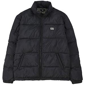 Obey Bouncer Puffer Jacket Black