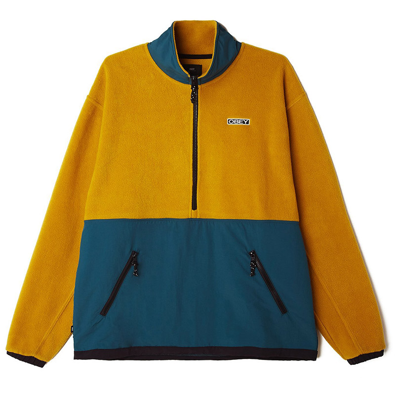 Obey Gallagher Jacket Gold Multi