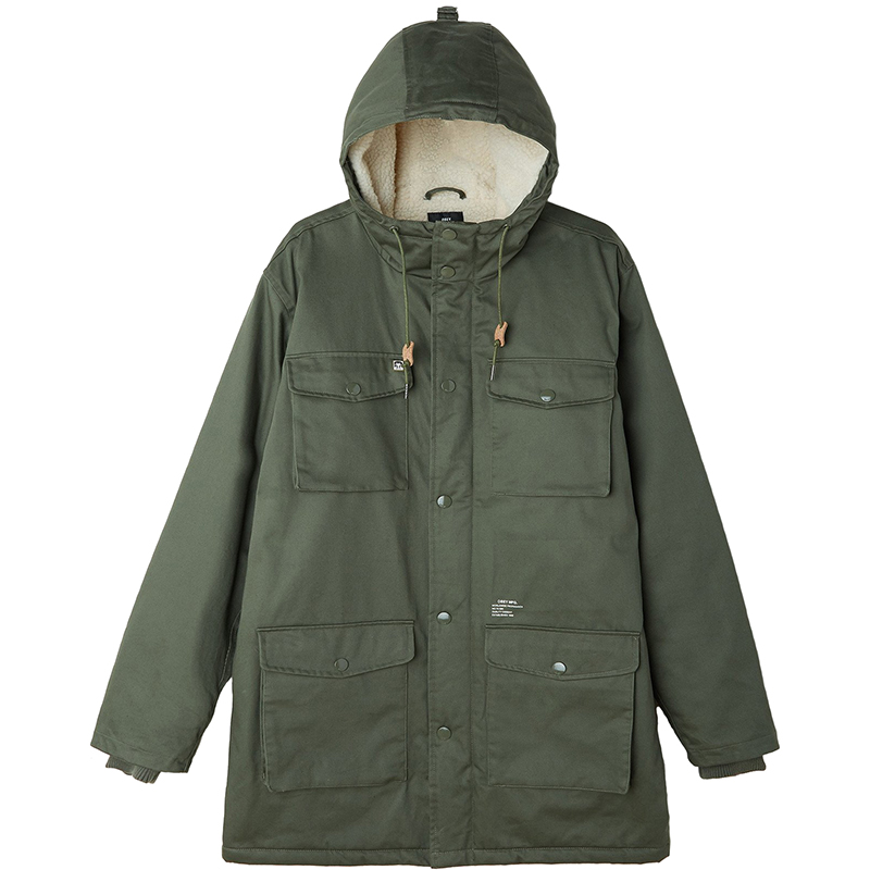 Obey Heller II Jacket Army