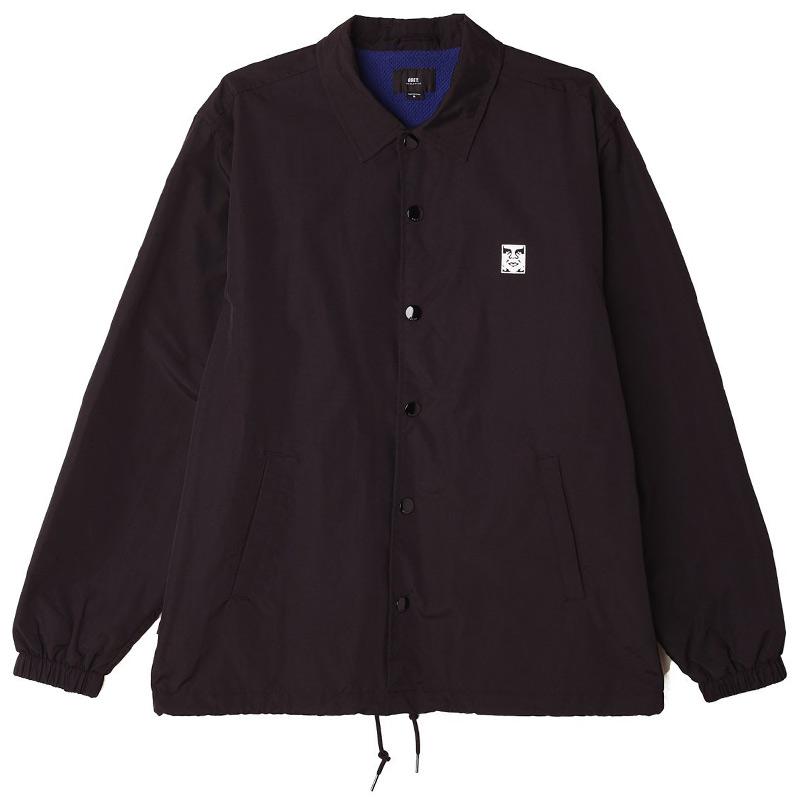 Obey Icon Coaches Jacket Black
