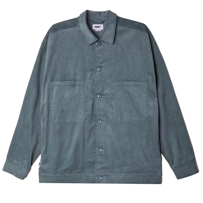 Obey Marquee Shirt Jacket Leaf