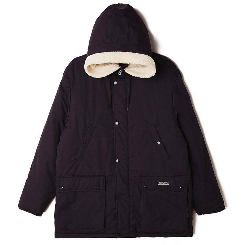 Obey Moore Jacket Navy