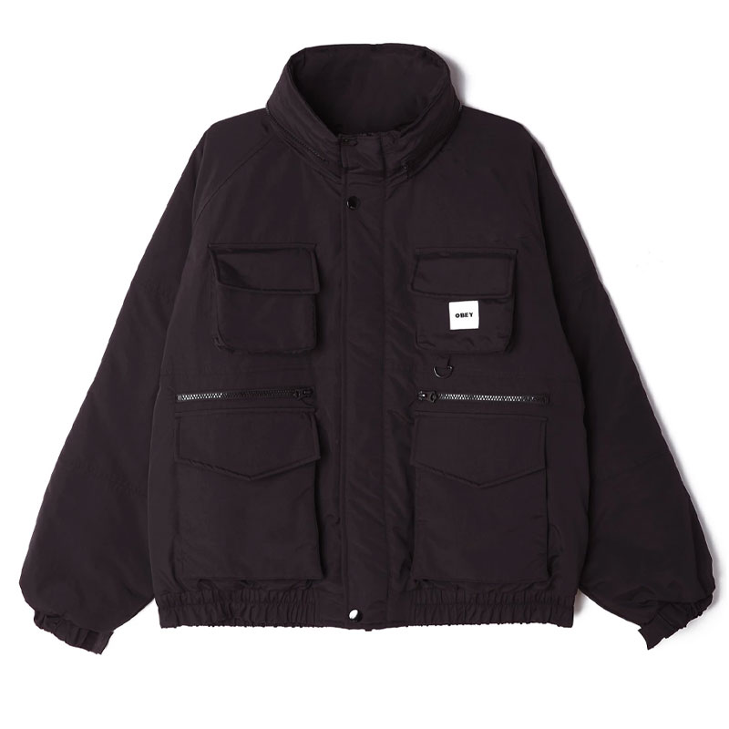 Obey Tactics Jacket Black