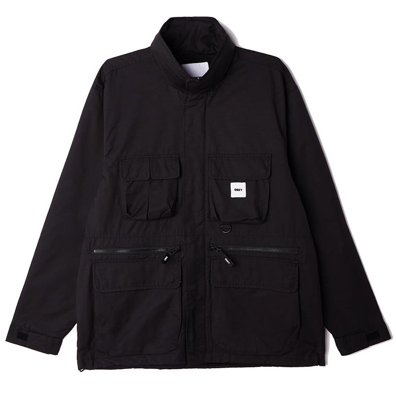 Obey Warffield Jacket Black