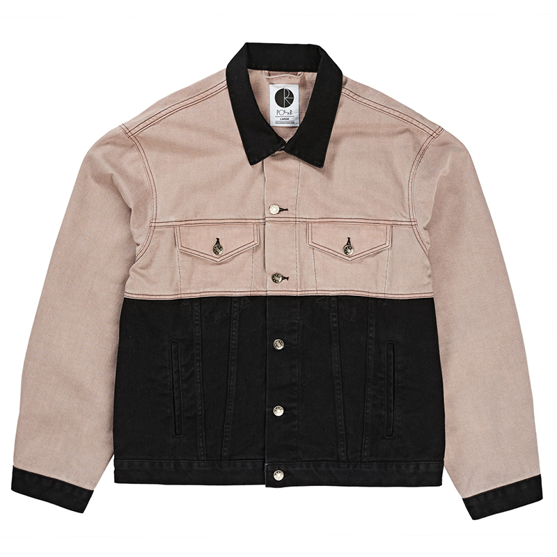 Polar 87 Denim Jacket Dusty Pink / Black