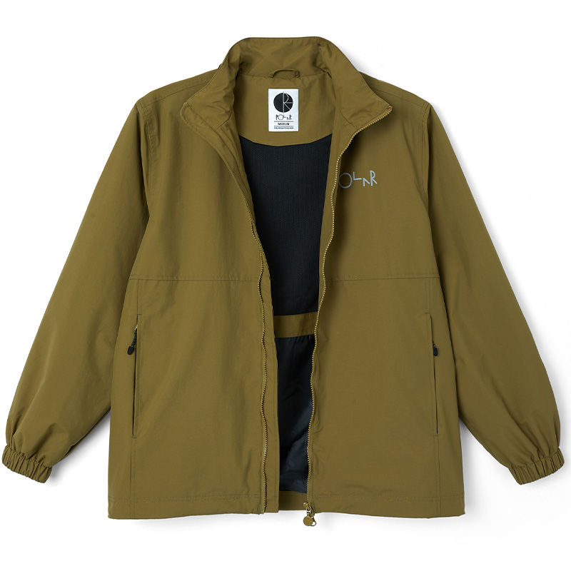 Polar Coach Jacket Green Brown