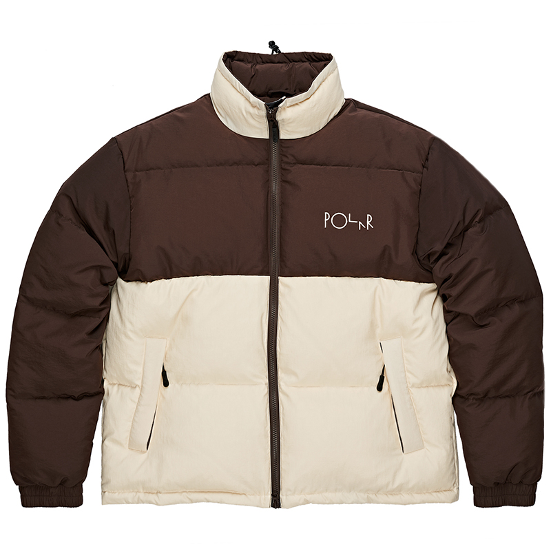 Polar Combo Puffer Brown/Cream