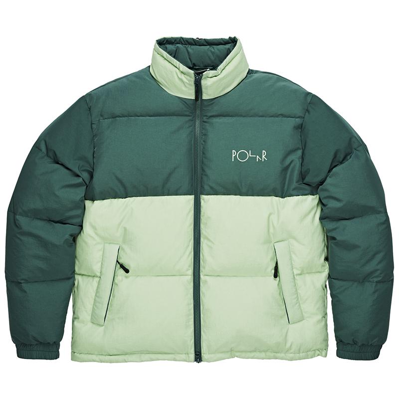 Polar Combo Puffer Green/Sea Foam Green