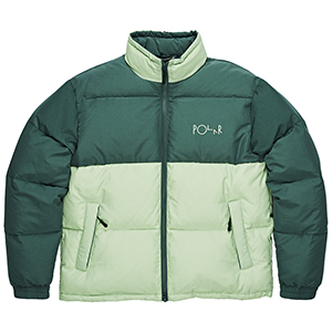 Polar Combo Puffer Green/Sea Foam Green