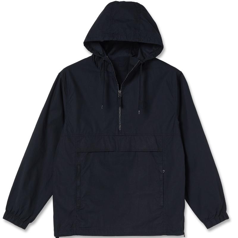 Polar Cotton Anorak Black