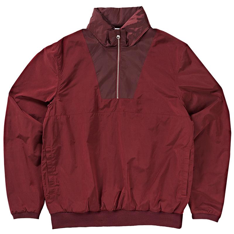 Polar Golf Club Pullover Jacket 2.0 Burgundy