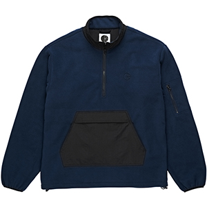 Polar Gonzalez Fleece Jacket Black/Obsidian Blue