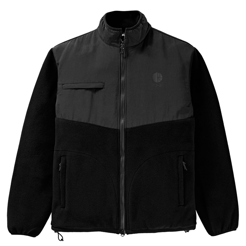 Polar Halberg Fleece Jacket Black/Black