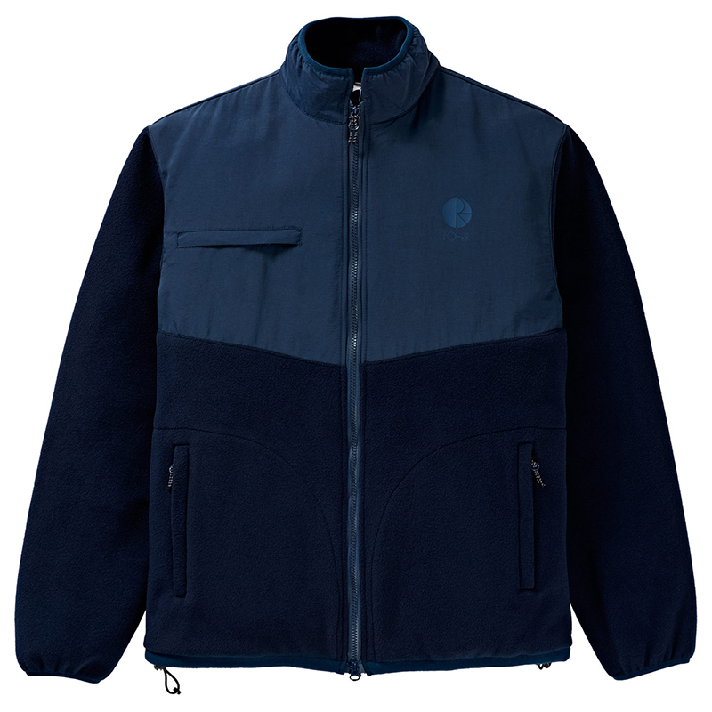 Polar Halberg Fleece Jacket Navy/Navy