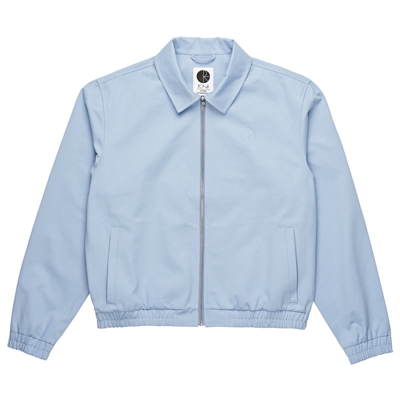 Polar Herrington Jacket Dusty Blue