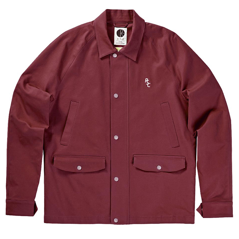 Polar Nautical Jacket Burgundy