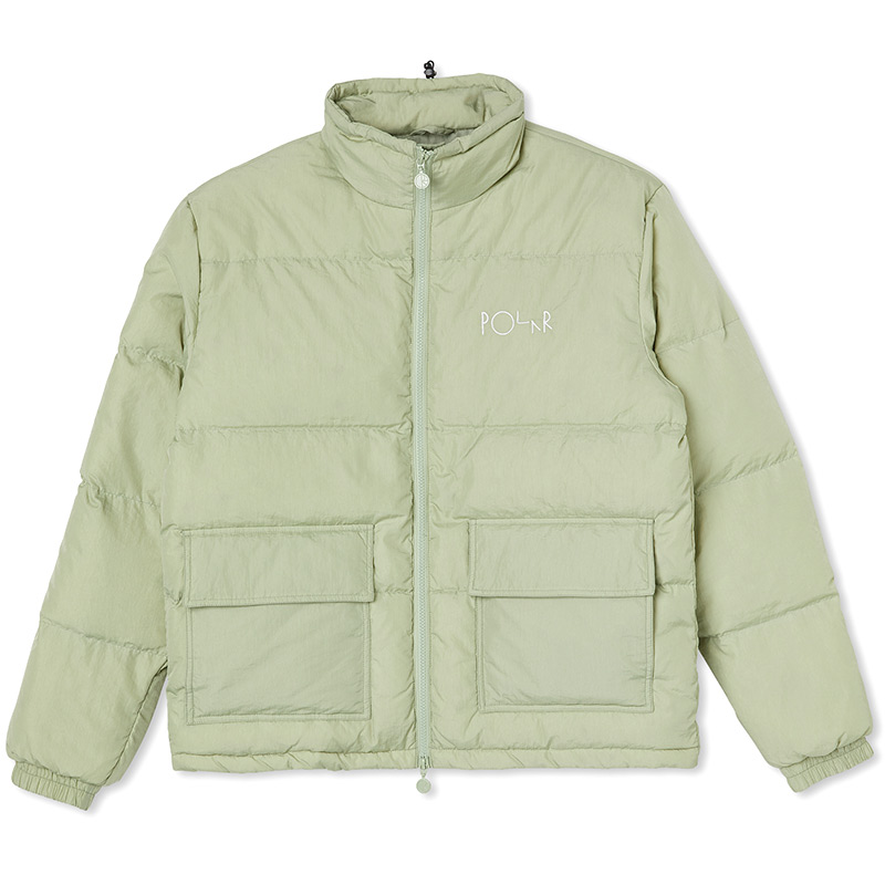 Polar Pocket Puffer Jacket Smoke