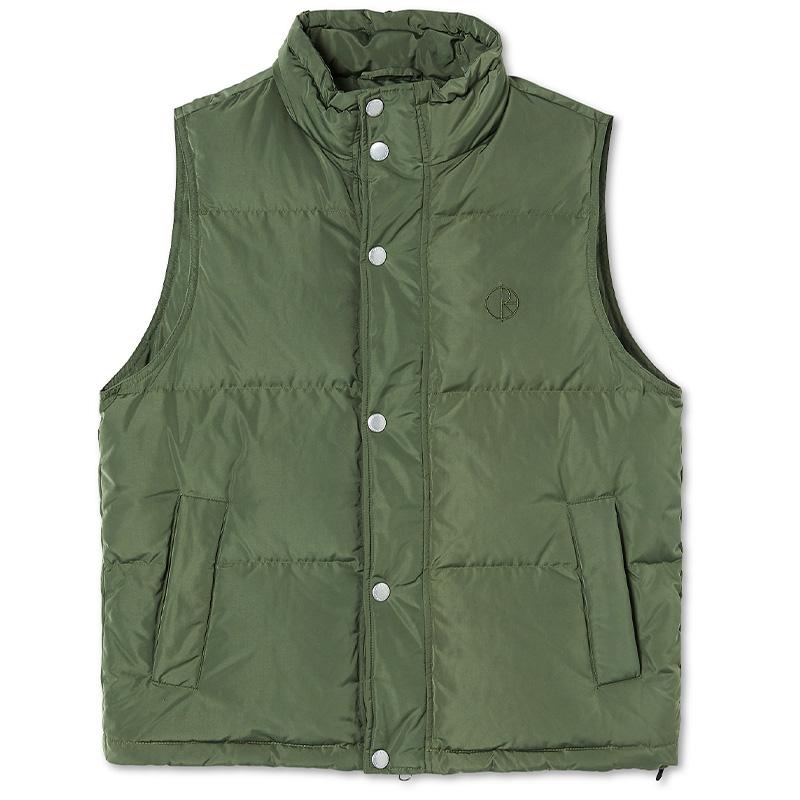 Polar Puffer Vest Light Olive