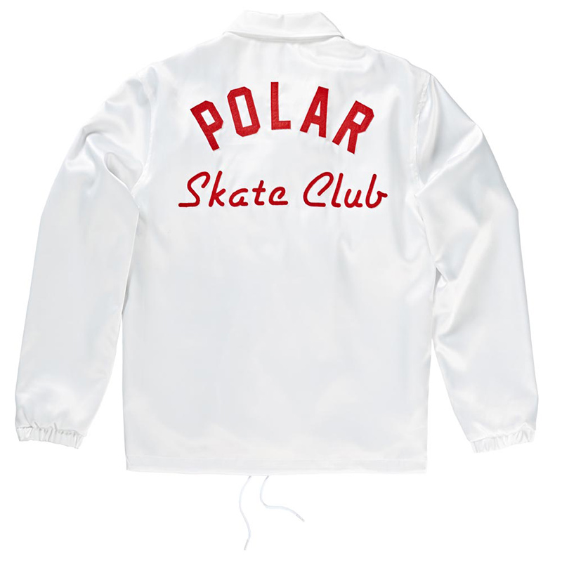 Polar Skate Club Jacket White