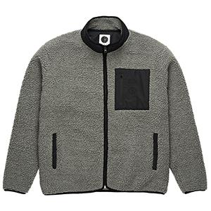 Polar Teddy Fleece Jacket Grey