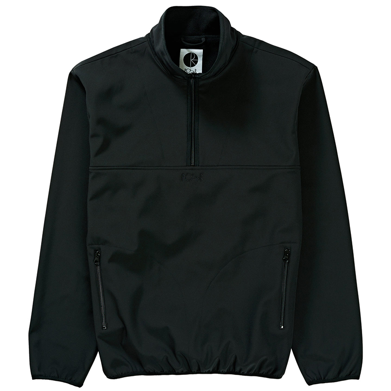 Polar Thermo Shell Pullover Jacket Black