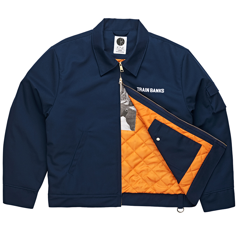 Polar Train Banks Jacket Navy