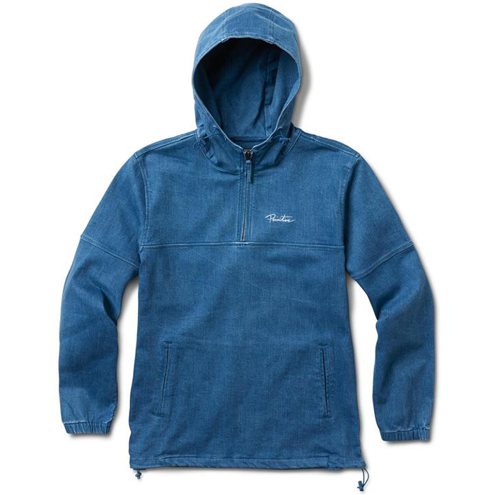 Primitive Endeavor Anorak Jacket Indigo Denim