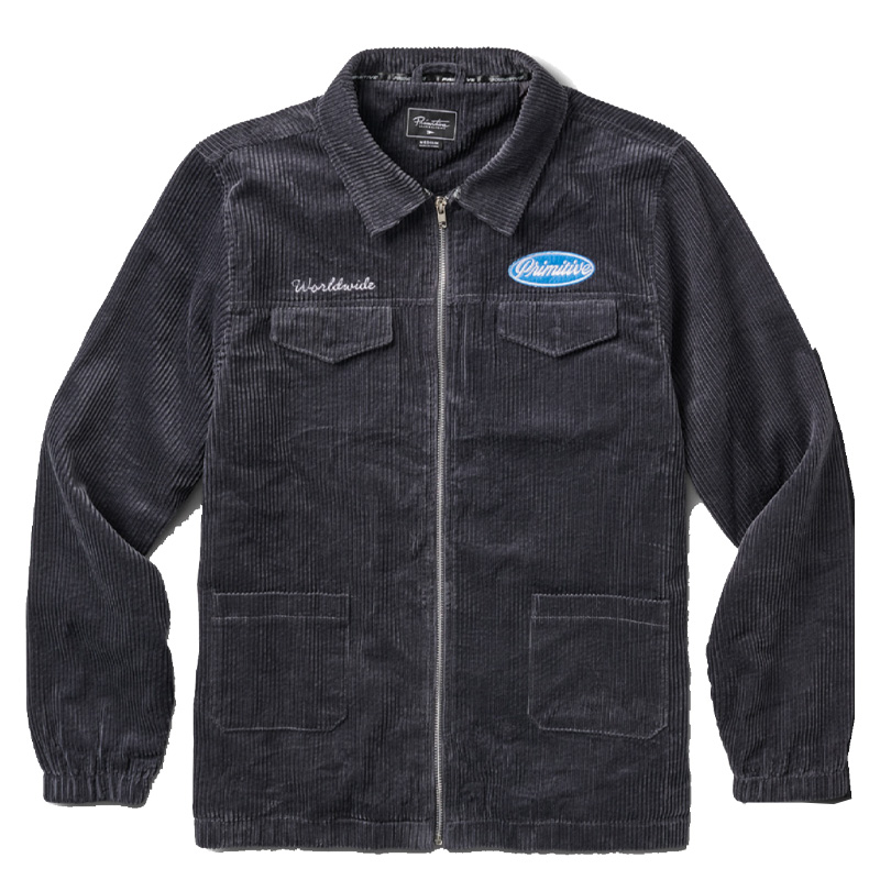 Primitive McKee Jacket Charcoal