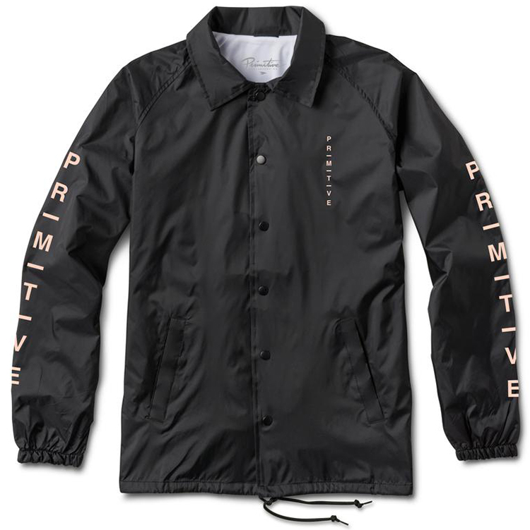Primitive Moods Coach Jacket Black
