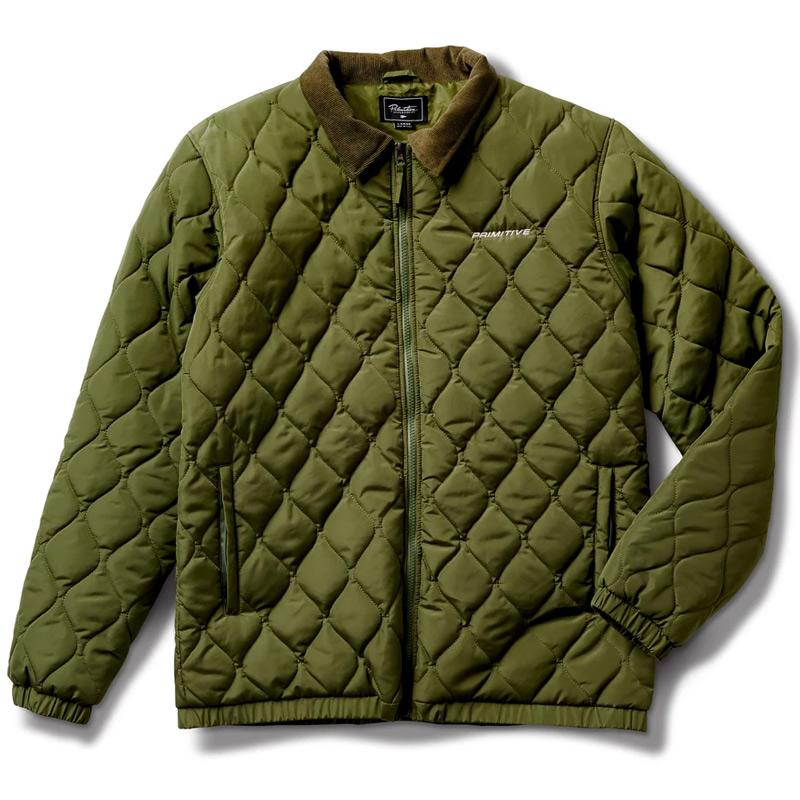 Primitive Newman Jacket Olive