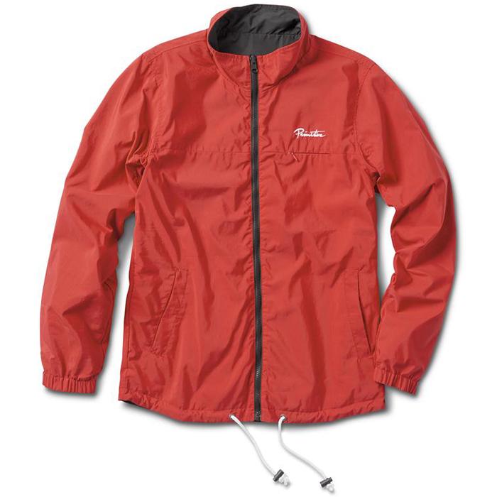 Primitive Reversible Cadet Jacket Charcoal/Coral