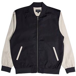 RIPNDIP Bouquet Varsity Jacket Black/Tan