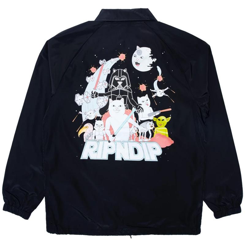 RIPNDIP Far Far Away Jacket Black