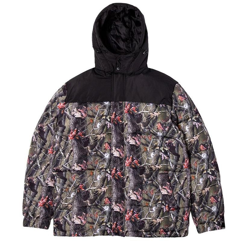 RIPNDIP Nerm&Jerm T-Shirt Camo Puffer Jacket Multi