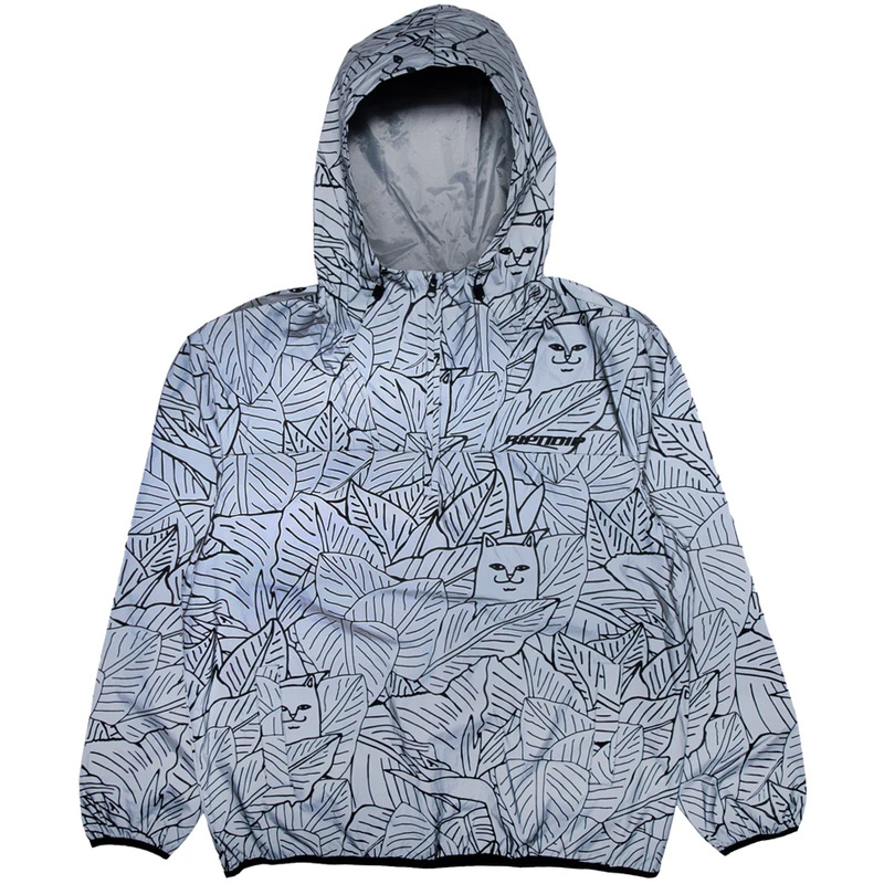 RIPNDIP Nermal Leaf Reflective Anorak Jacket Reflective